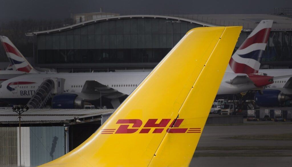 dhl, freight, cargo